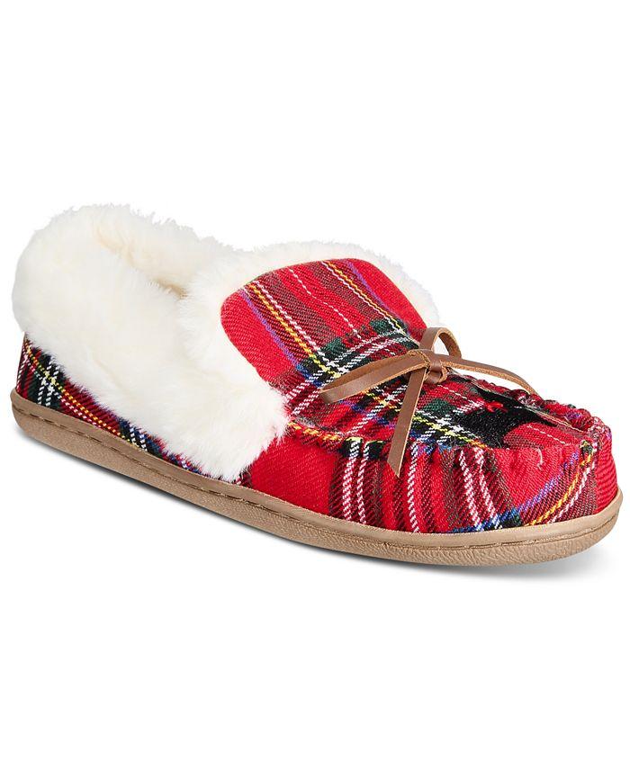 Charter Club - Dorenda Moccasin Slippers