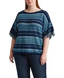 Plus Size Ultra-Soft Cotton Top