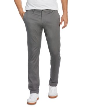 Original Penguin Premium Basic Stretch Cotton Chino Pants In Castlerock