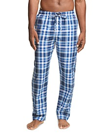 Men's Plaid Woven Pajama Pants