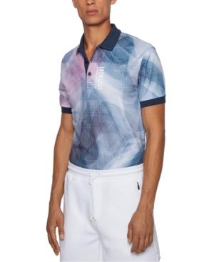 Boss Men's Paddy Pure-Cotton Polo Shirt