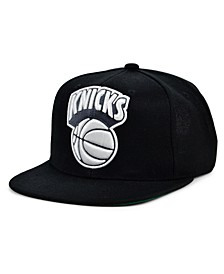 New York Knicks HWC XL Black Dub Snapback Cap