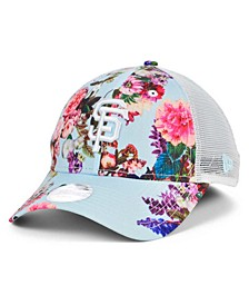 San Francisco Giants Women's Floral 9FORTY Cap