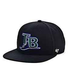 Tampa Bay Rays Coop Shot Snapback Cap