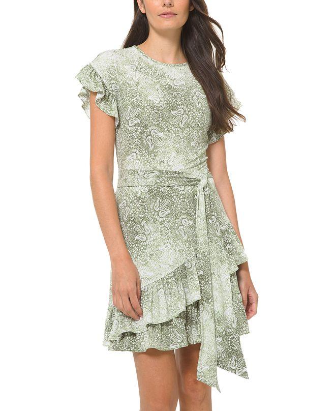 Michael Kors Sunbleached Wrap Dress