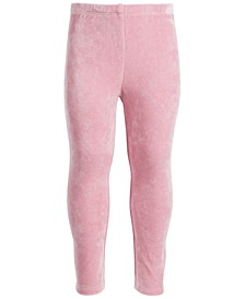 Toddler Girls Velour Legging, Created for Macy's