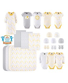 Baby Boys and Girls 23 Piece Sunshine Jungle Layette Set