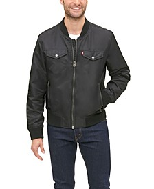 Men's Classic Flight Bomber Jacket