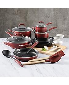22-Pc. Nonstick Aluminum Combination Cookware Set