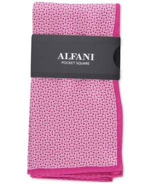 Alfani Men's Elsley Mini-Geo Pocket Square, Created for Macy's