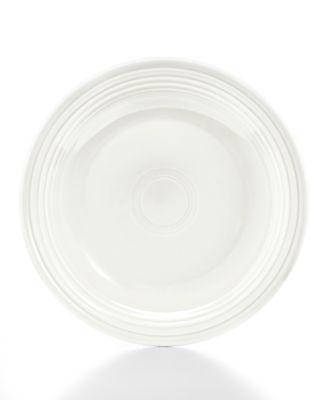 """10.5"""" White Dinner Plate"""