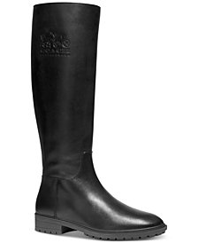 COACH Women's Fynn Wide-Calf Riding Boots