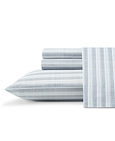 Maldive Stripe Cool Zone Queen Sheet Set