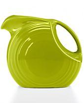 Fiesta Lemongrass 67.75-oz. Large Disk Pitcher