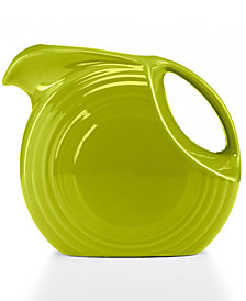 Fiesta Lemongrass 67.75-oz. Large Disk Pitcher