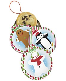 Ornament Cookie Tins, Set of 3