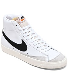 Women's Blazer Mid 77's High Top Casual Sneakers from Finish Line