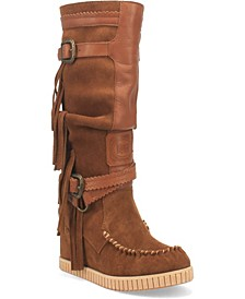 Women's Catabwa Moccasins Boot