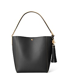 Medium Leather Adley Shoulder Bag