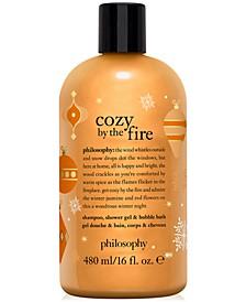 Cozy By The Fire Shampoo, Shower Gel & Bubble Bath, 16-oz.