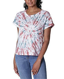 Juniors' Tie-Dye T-Shirt