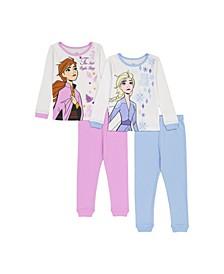 Frozen Toddler Girl 2 Piece Pajama Set