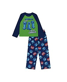 Minecraft Little and Big Boys 2-Piece Pajama Set