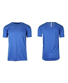 Men's Short Sleeve Moisture-Wicking Quick Dry Performance Tee