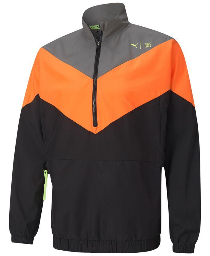 Puma - Men's First Mile Xtreme Woven Half-Zip Jacket