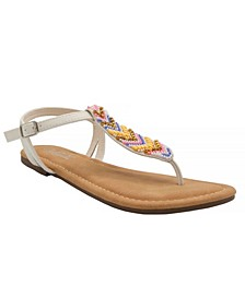 Women's Polina Beaded Thong Sandals