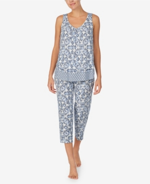 Ellen Tracy WOMEN'S CROPPED PAJAMA SET