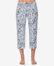 Women's Cropped Pajama Pant