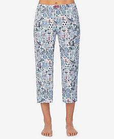 Ellen Tracy Women's Cropped Pajama Pant