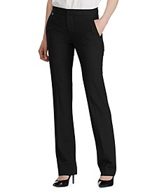 Petite Straight-Cut Pants