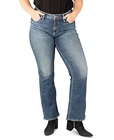 Plus Size Suki Bootcut Jeans