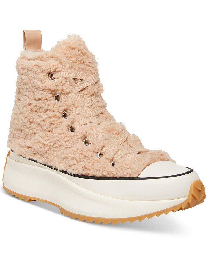 Steve Madden - Women's Shaft Platform High-Top Sneakers