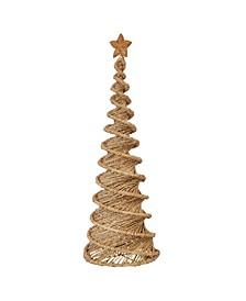 "30"" Handwoven Bankuan Spiral Cone Tree"