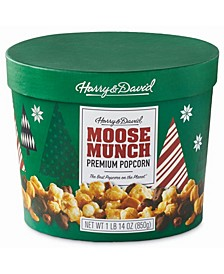 Moose Munch Milk Chocolate, Dark Chocolate and Caramel Drum, 30oz