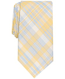 Men's McKay Slim Plaid Tie, Created for Macy's
