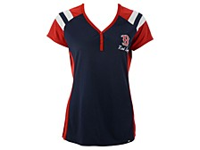 Women's Boston Red Sox Triple Play Henley Shirt