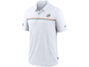 Nike Miami Dolphins Men's Dri-Fit Short Sleeve Polo