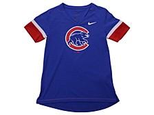 Youth Chicago Cubs Girls V-Neck Hero T-Shirt