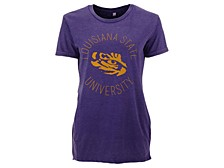 Women's LSU Tigers Vintage Wash T-Shirt