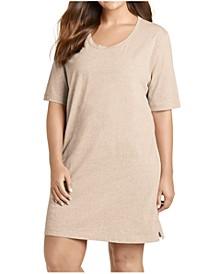 Plus Size Cotton Sleep Shirt Nightgown