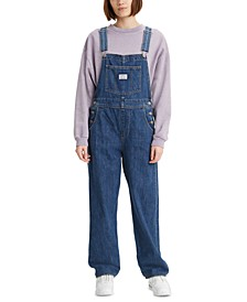 Cotton Denim Overalls