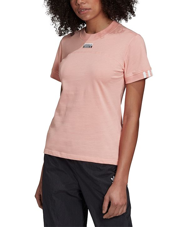 adidas Women's RYV Cotton Fitted T-Shirt