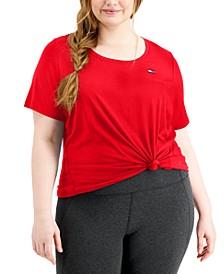 Plus Size Logo-Tab T-Shirt