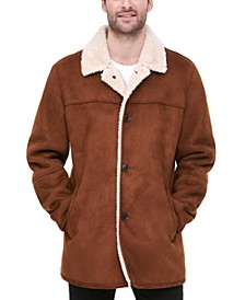 Men's Classic-Fit Faux-Shearling Rancher Jacket