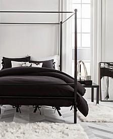 Dot 3 Piece Comforter Set, Full/Queen