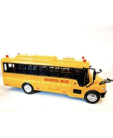 Mag-Genius School Bus with Lights and Sound and Greetings toy